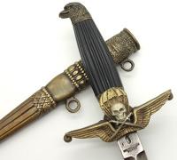 Post-war Hungarian Paratrooper's dagger