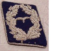 Luftwaffe Medical Major Collar Tab