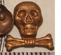 Brunswick Traditions Skull Miniature Planchet