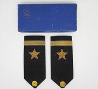 US Navy Shoulder Straps in Case