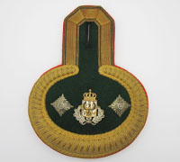 Prussian Officials Parade Epaulette