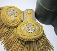 Wurtemberg Navy Capitan-Lieutenant Parade Epaulettes in Box