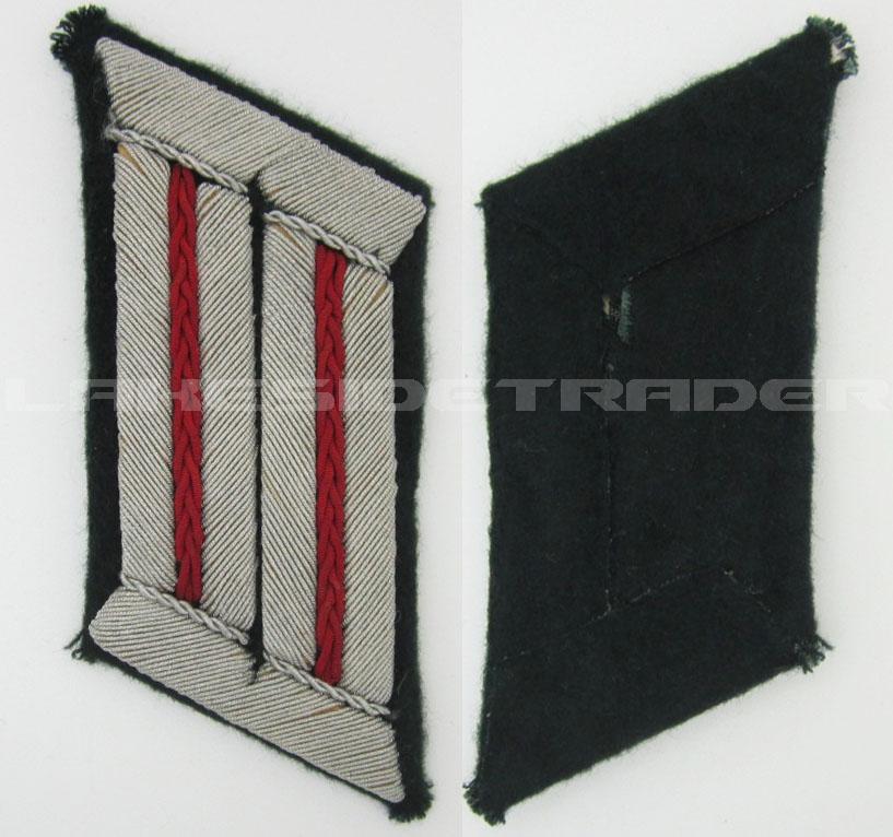 Army Smoke Troop Officer Collar Tab
