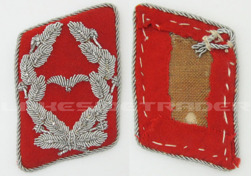 Luftwaffe Flak Artillery Major's Collar Tab