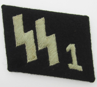 Tagged SS Panzer Grenadier Regiment Collar Tab