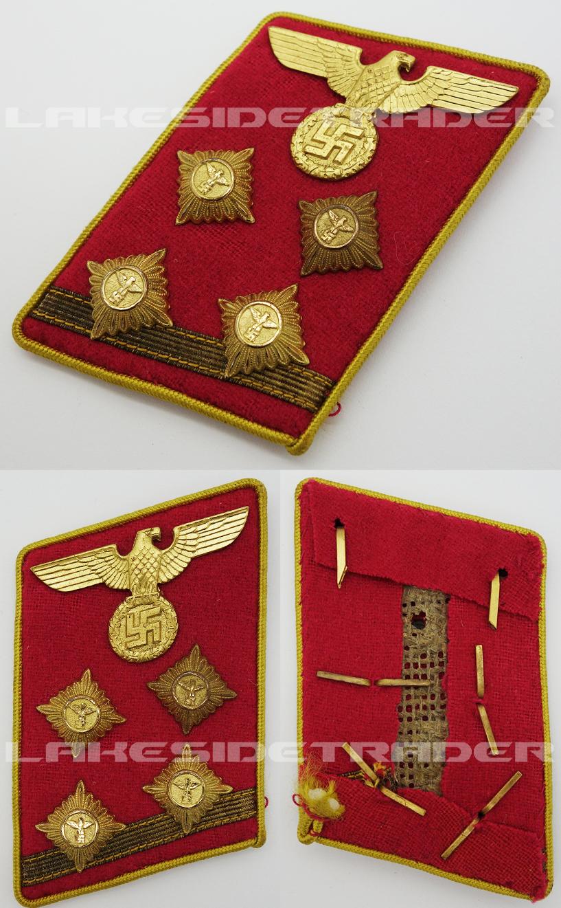 NSDAP Reichs level OberGemeinschaftsLeiter Collar Tab
