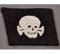 3rd SS Panzer Division Totenkopf Collar Tab