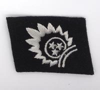 Waffen SS Lettishe Collar Nr.1 Collar Tab