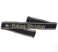 """""""SS-Pollizei-Division"""" Cuff-Title"""