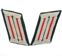 Artillery Officer's Collar Tabs