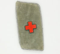 Red Cross Officer Collar tab