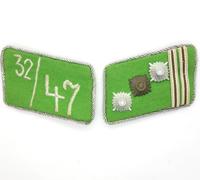 SA Sturmhauptführer Collar Tabs