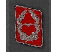 Luftwaffe Flak Major Collar Tab