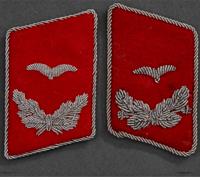 Luftwaffe Flak Leutnant's Tabs