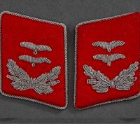 Luftwaffe Flak Oberleutnant's Tabs