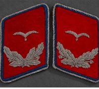 Luftwaffe Reserve Flak Oberleutnant's Tabs
