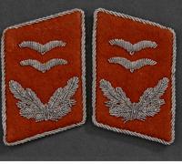 Luftwaffe Signals Oberleutnant's Tabs