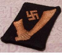 Croatian Waffen SS Handschar Collar Tab