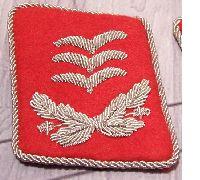 Luftwaffe Flak Hauptmann Collar tab