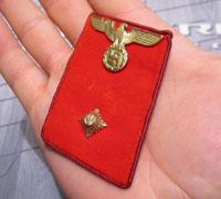NSDAP Gauleitung Level Collar Tab