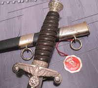Tagged WKC Land Customs Dagger