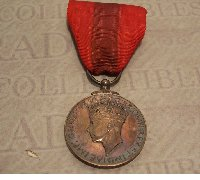 Imperial Service Medal George VI