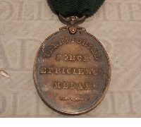 Territorial Force Efficiency Medal Edward VII