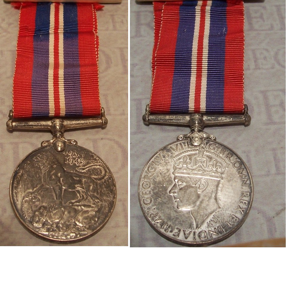 Canadian 1939-1945 War Medal