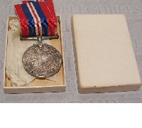 1939-1945 War Medal in issue case