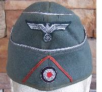Army Artillery M38 Officers Overseas Cap