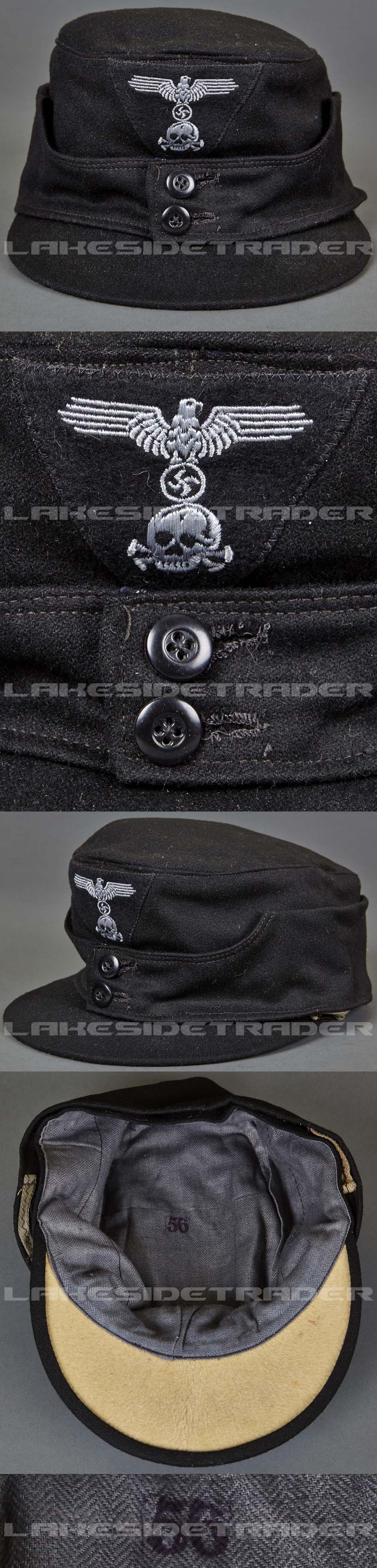 Field Cap M43 for Waffen-SS Panzer Troops