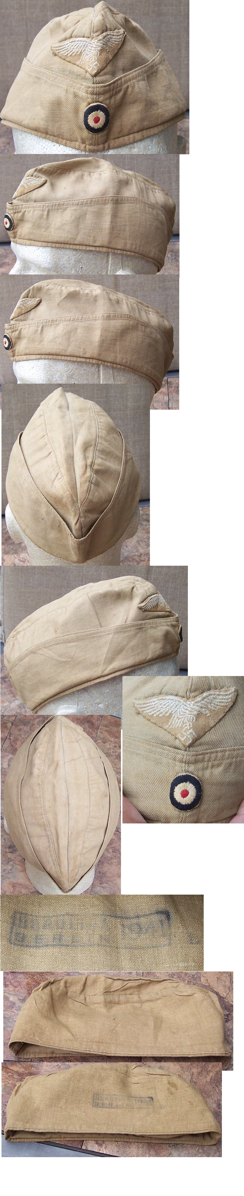 Luftwaffe EM/NCO Tropical Overseas Cap