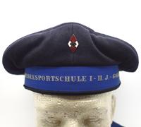 """Marine H.J. """"Reichsseesportschule I – H.J. – Gorch Fock"""" Cap"""