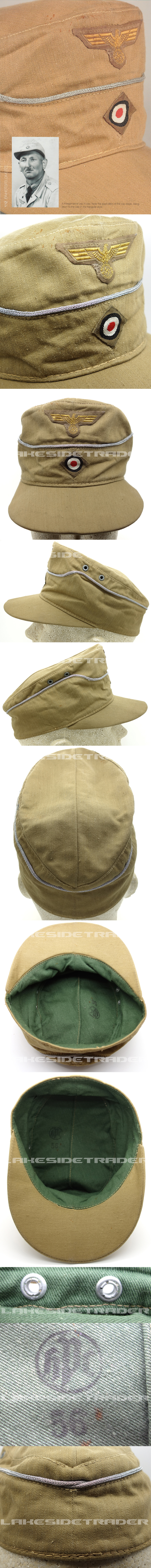 THE Textbook Example - Navy Officers M41 Tropical Field Cap by HPC