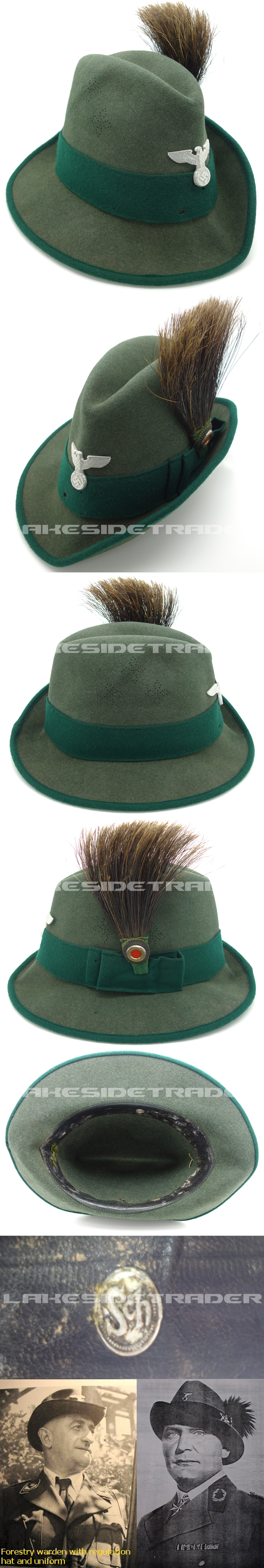 Forestry Service Officials Hat