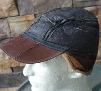 U.S. Army Air Corps Leather Crewman's Cap