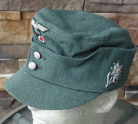 Army EM M43 Field Cap with Edelweiss