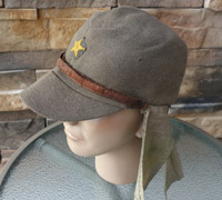 IJA EM/NCO Field Cap w neck protection