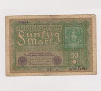 43 Reichsbanknotes