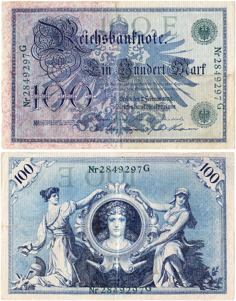 100 Reichsbanknote