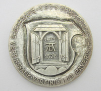 Bavarian Bank Merger Medallion 1971