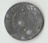 1 Reichspfennig Coin 1941