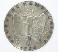 Deutsche Kampfspiele Winners Table Medal 1934
