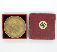 Bronze Adolf Hitler Coin
