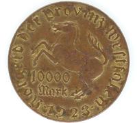 10000 Mark Westphalia 1923