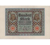 100 Mark bill