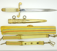 Romanian Army Dagger w accouterments