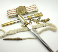 Bulgarian Army Dagger Model 1952 w Dress Belt
