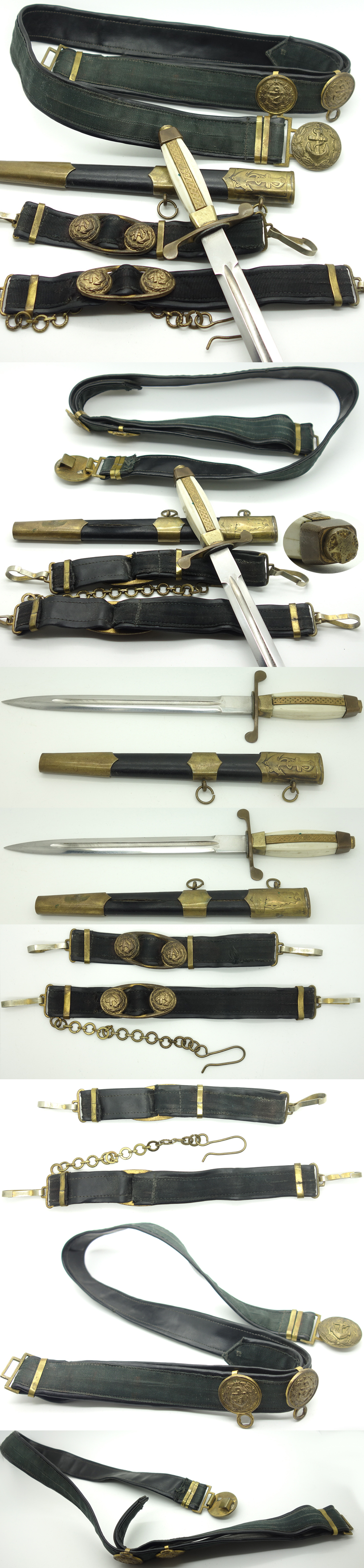 Bulgarian Navy Dagger Model 1952