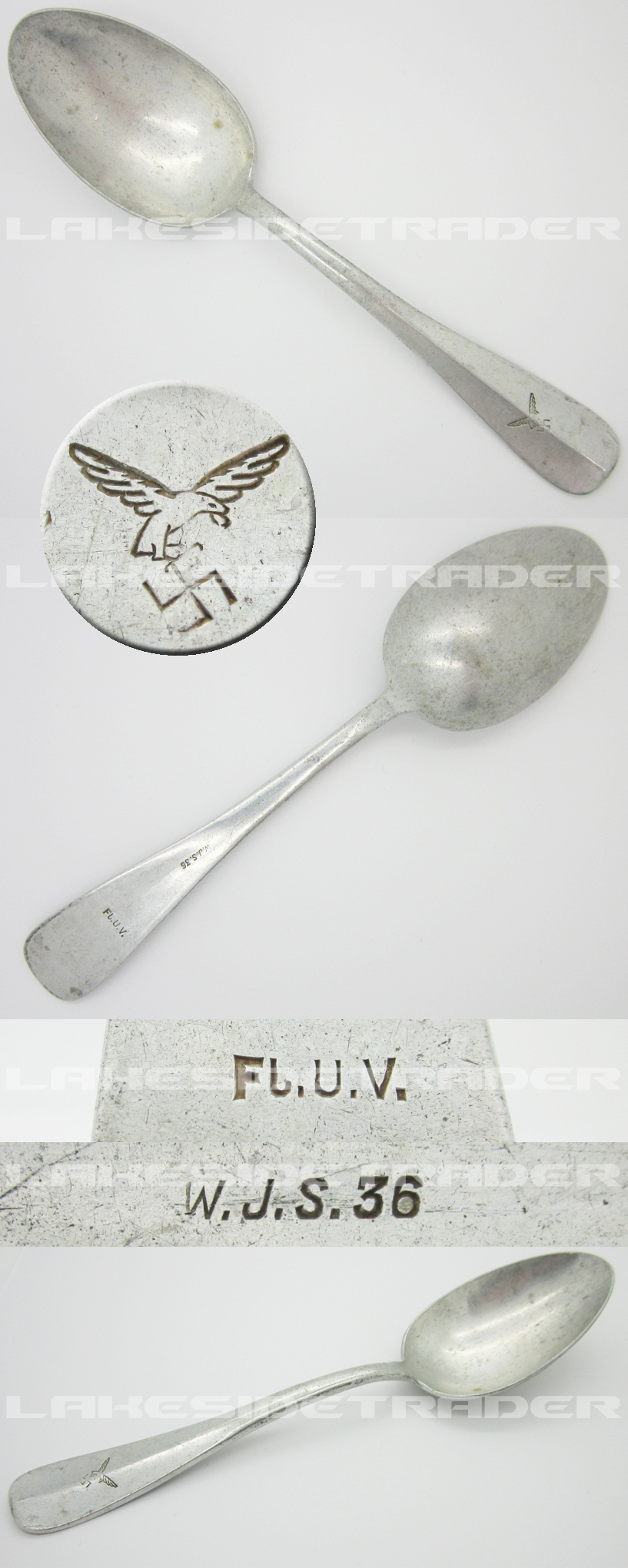 Luftwaffe Mess Hall Spoon by W.J.S. 1936